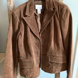 East 5th microsuede jacket.
